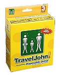 TravelJohn Disposable Urinal (3 pack)