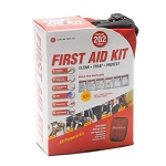 Genuine First Aid Kit, Soft Case, 202-piece Kit