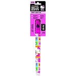 Life Gear Hello Kitty LED Glow Stick and Flashlight, Pink, Batteries, Lanyard & Emergency Whistle included