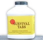 Survival Tabs - Strawberry (180 Tabs)