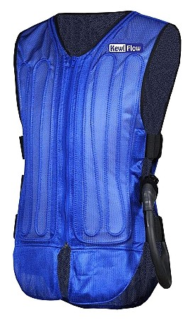 KEWLFLOW Circulatory Cooling Vest with Portable Back Pack