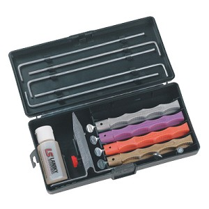 Lansky Deluxe Diamond Sharpening Kit