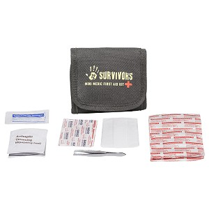 12 Survivors Mini Medic 60 Piece First Aid Kit