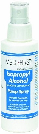 Medique Products 26806 Isopropyl Alcohol Pump Spray, 4 Ounces
