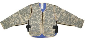 Evaporative & Phase Change Cooling Military Vest Sleeves