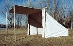 Baker Lean-to Tent 12' x 9' x 2'
