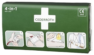 Cederroth 1910 4-in-1 Bloodstopper Dressing