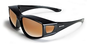 MAXX Over the Glasses HD Polarized Sunglasses