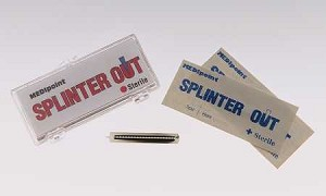 Medipoint Inc. Splinter Out Tray - Box of 10