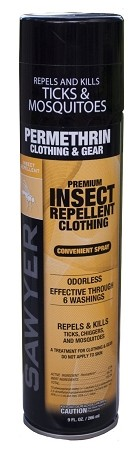 Sawyer Premium Permethrin Insect Repellant for Clothing, Gear & Tents