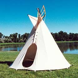 Backyard Tipi