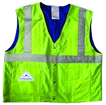 HYPERKEWL Traffic Safety Evaporative Cooling Vest ANSI Class II compliant