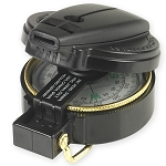 Lensatic Compass with Whistle