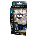 Sawyer PointOne Squeeze Water Filter System with 3 Pouches