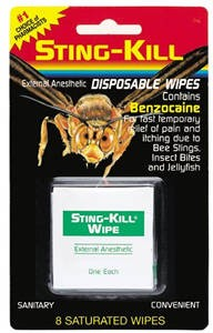 Sting-Kill Wipes